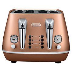 Buy De'Longhi Distinta 4-Slice Toaster Online at johnlewis.com