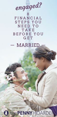 """8 Major Money Moves You Need to Make Before Saying """"I Do"""""""