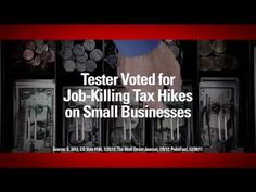 """""""Cost You"""" from Crossroads GPS opposes Sen. Jon Tester, D-Mont. 8/15/12"""