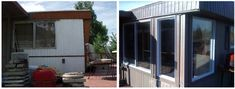 This 1978 Mobile Home Remodel Is One Of Our Favs - replacing mobile home window. - This 1978 Mobile Home Remodel Is One Of Our Favs – replacing mobile home window… – This 197 - Mobile Home Windows, Mobile Home Redo, Mobile Home Exteriors, Mobile Home Repair, Mobile Home Renovations, Mobile Home Makeovers, Mobile Home Living, Remodeling Mobile Homes, House Windows
