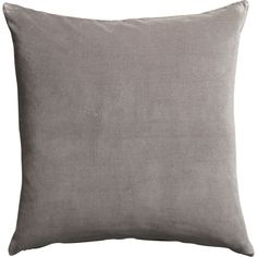 """leisure grey 23"""" pillow 