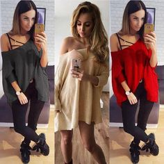 Women Long Sleeve Knitwear Jumper Cardigan Loose Coat Jacket Casual Sweater