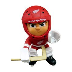 Detroit Red Wings NHL Lil Teammates Vinyl Goalie Sports Figure (2 3/4 Tall) (Series 2)