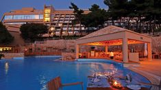 Poolside Bar at the Dubrovnik Palace   Adriatic Luxury Hotels