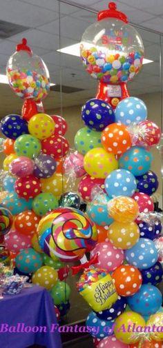 CandyTheme Birthday Party