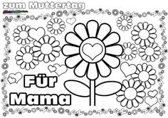 Kindergarten, Funny, Top, Profile, Mothers Day Coloring Pages, Mothers Day Images, Father's Day, Cool Presents, Mothers Day Crafts