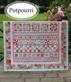 Potpourri Quilt pattern- $11.95