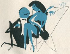 From the Esquire Drink Book, Illus by Charmatz 1956