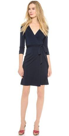 Diane von Furstenberg New Julian Two Wrap Dress   SHOPBOP