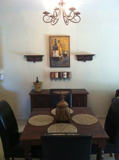 1000 images about dining room on pinterest dining rooms for Wine themed dining room ideas