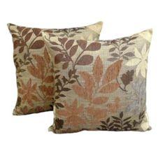 Essentials+Bristol+Chenille+Jacquard+2-pk.+Decorative+Pillows