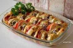 Wypasiona zapiekanka Vegetable Pizza, Quiche, Chicken, Dinner, Vegetables, Cooking, Breakfast, Recipes, Food