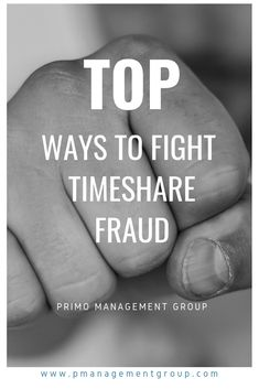 4 Ways to Fight Timeshare Scams - Primo Management Group Laying On The Beach, Just Say No, Fight For You, Identity Theft, Just Giving, Ruin, Finance, Management, Group