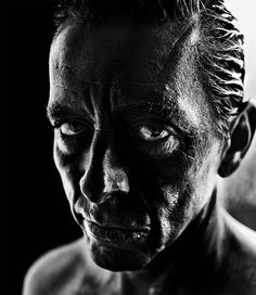 Londoner Brett Walker has large collection of dark and intense photos at Flickr. It is actually quite challenging to choose the best ones because there are so many good ones. http://illusion.scene360.com/art/48224/piercing-photos/ #photography #portrait #blackandwhitephotography