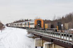 Special Saturday train deadheads into Moosonee before heading south to Cochrane.