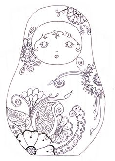"Printable-coloriage @Emily Schoenfeld Holmstrom - maybe Cecilia would like to color this pic of ""baby jesus""! lol"