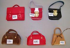Numérotation chaussures....sacs pour poupées 40cm