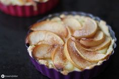 apfel pudding tartelettes backen