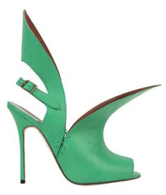 A woman wearing heels is a force to be reckoned with. And especially those with Manolo Blahniks.  Exaggerated, eccentric, yet timeless and sophisticated, and oozing altitude with every step.