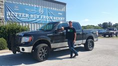 CHRISTOPHER 's new 2010 FORD F150! Congratulations and best wishes from Benny Boyd Motor Company - Marble Falls and DEE NIXON.