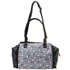Hello Kitty 2 Way Shoulder Overnight Boston Bag Embossed & Laminated SANRIO JAPAN