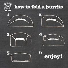 How to Wrap a Burrito (Chipotle Style)