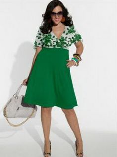 Summer dresses for plus size women