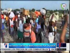 Haitianos Continúan Marchándose Masivamente Por Dajabón De Manera Voluntaria #Video