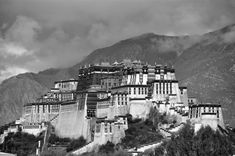 The Potala. The place where former Dalai Lama rested and a holy land forever.