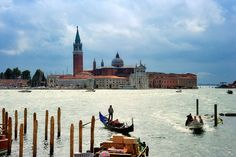San Giorgio Maggiore is one of the islands of Venice, northern Italy, lying east of ... Giudecca, Saint Mark Basin, Canale di San Marco and the southern lagoon.