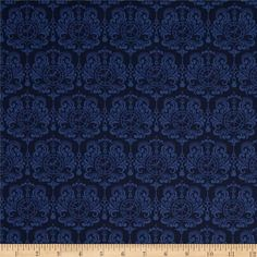 Designed by Dan Morris for Quilting Treasures, this cotton print fabric is perfect for quilting, apparel and home decor accents. Colors include shades of blue.