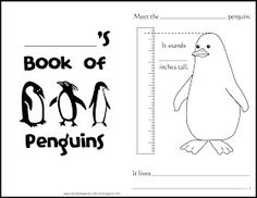 Relentlessly Fun, Deceptively Educational: Penguins Printable Book & Craft