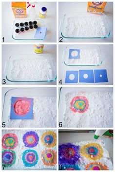 Kandinsky Citric Fizz | Life Lesson PlansGather your materials: baking soda, citric acid, water in a spray bottle or with pipettes, and coloring