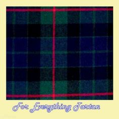 Gunn Modern Tartan Polyviscose Plaid Fabric Swatch  by JMB7339 - $20.00