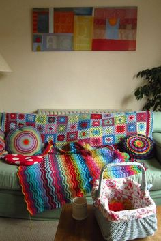 I love lucy from Attic 24's crochet filled house. The blog is awesome too.