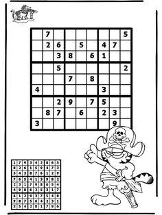 Sudoku pirate, many more sudokus