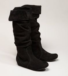 AEO Suede Slouchy Boot $69.50