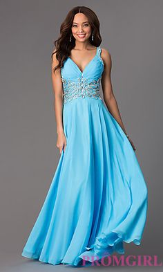 Long Sweetheart Panoply Prom Dress at PromGirl.com