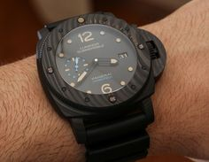 Panerai Luminor Submersible 1950 Carbotech 3 Days Automatic PAM616 Watch Hands-On