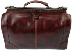 Italian Leather Top Frame Gladstone Hand Luggage Brown 2 Colors 2 Sizes From Hand Luggage, Duffel Bag, Weekender, Leather Briefcase, Leather Accessories, Leather Men, Leather Bags, Italian Leather, Shoulder Strap