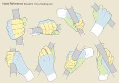 手のイラスト資料集 -Hand Reference | Hato King Hand Drawing Reference, Human Reference, Drawing Reference Poses, Anatomy Reference, Body Drawing, Drawing Base, Digital Art Tutorial, Drawing Challenge, Drawing Techniques