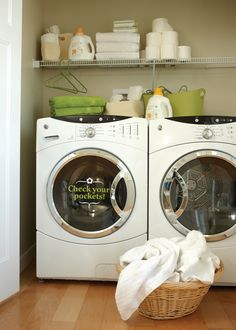 Great idea.. Finding stuff in your washer later is never fun..