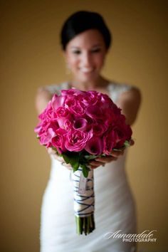 Wedding Flowers by Autumn Rose Flower & Gift Shoppe / Photo Credit: Annandale Photography