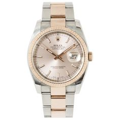 Rolex Pink Face Watch | Vestiaire Collective