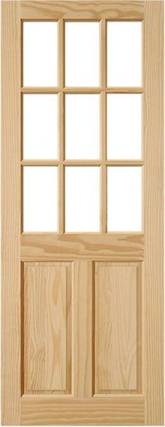 8 meilleures images du tableau porte bois massif tile - Carreau porte vitree ...