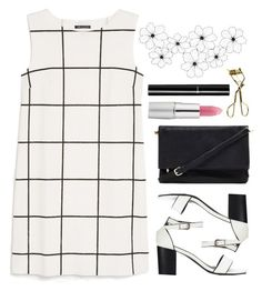 """""""M'Lady"""" by spellrox ❤ liked on Polyvore featuring MANGO, Forever 21, TheBalm, Chanel and MAC Cosmetics"""