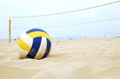 Beach volleyball - One of the most fun things to do at the beach! #indigo #perfectsummer