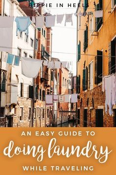 Sometimes when you're abroad for a long time, you ultimately need to do your laundry! Here's the ultimate easy guide to washing clothes while traveling -- and, yup, these are things I've done! Packing Tips For Travel, Travel Advice, Travel Hacks, Travel Guides, Travel Money, Solo Travel, China Travel, India Travel, Serbia Travel