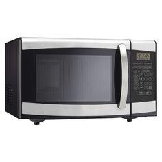 Danby 0.9 Cu. Ft. 900 Watt Microwave Oven - Stainless Steel DMW099BLSD : Target