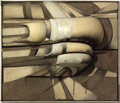 Lee Bontecou, Composition, 1965